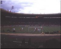 TQ1985 : The Charity Shield of 1974 at Wembley by Trevor Rickard