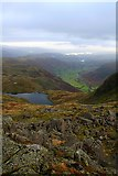 NY2807 : Stickle Tarn and Great Langdale by Steve Partridge