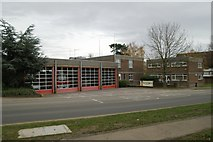 SP8633 : Bletchley fire station by Kevin Hale