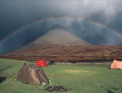 NG5130 : Glamaig Rainbow by John Bennett