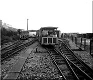 TQ3203 : Volk's electric Railway, Brighton, Sussex by Dr Neil Clifton