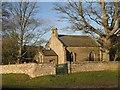 NZ0182 : St Wilfrid's Church, Kirkharle by Mike Quinn