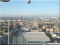 TA2710 : Looking west from the Roof of Thesiger house Grimsby by Roger Damm