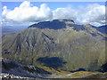 NN1666 : View north from Sgurr a' Mhaim by Nigel Brown