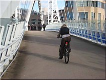 SJ8097 : Crossing the Manchester Ship Canal by Oliver Dixon