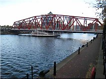 SJ8097 : Detroit Bridge, Salford Quays by Oliver Dixon