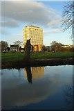 TL0506 : Hemel Ex-Kodak Building from the Grand Union Canal by Paul Huntley
