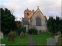 SJ3464 : St Mary's Church, Broughton by Eirian Evans