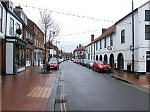 TF4066 : High Street, Spilsby by Dave Hitchborne