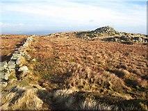 NX9561 : Douglas's Cairn, Criffel by Oliver Dixon