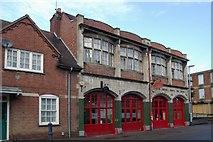 SP7387 : Market Harborough old fire station by Kevin Hale