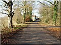 SE8643 : The Lane to Towthorpe Grange by Peter Church