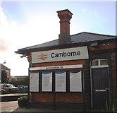 SW6439 : Camborne railway station building by Tom Jolliffe