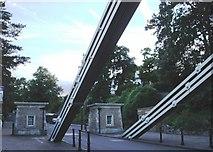 ST5673 : Clifton Suspension Bridge - west side by Tom Jolliffe