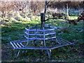 SN1640 : Coed Pencwm seat by ceridwen