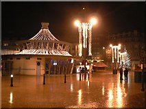 SZ0891 : Bournemouth: Christmas time at The Square by Chris Downer