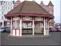 TQ7407 : Shelter on the Promenade, Bexhill-on-Sea by Bill Johnson