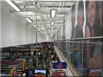 SZ1394 : A busy Christmas Eve at Tesco by Chris Downer