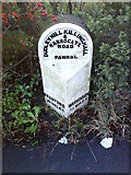 SE2853 : Milestone on Harlow Hill by Matthew Hatton
