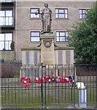 SE1835 : War Memorial - Stone Hall Road by Betty Longbottom