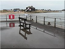SZ1891 : Mudeford: looking across The Run by Chris Downer