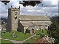 SD3598 : Hawkshead Church by J Scott