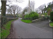 H4869 : Road at Edenderry by Kenneth  Allen