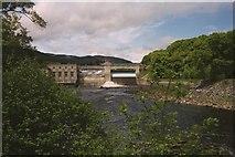NN9357 : Hydro Dam by J Scott