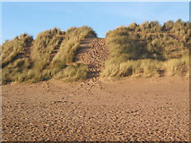 SD1578 : Dunes near Haverigg by Andrew Hill