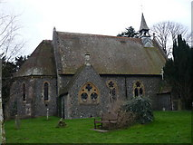 TR2647 : St. Andrew's Church, Shepherds Well by pam fray