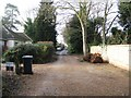 TL4455 : Gazeley Road by Sandy B