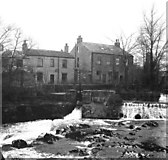 SE0063 : Houses by the River Wharfe, Linton by Dr Neil Clifton