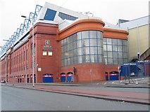 NS5564 : Ibrox Football Stadium by Johnny Durnan