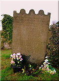 J5081 : The grave of Archibald Wilson, Bangor Abbey churchyard by Rossographer
