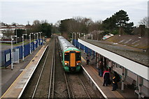 TQ2262 : Ewell East station by Dr Neil Clifton