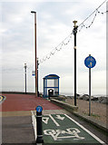 TQ1602 : Worthing Sea Front, West Sussex by Roger  Kidd