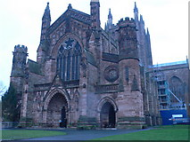 SO5039 : Hereford Cathedral by Eirian Evans