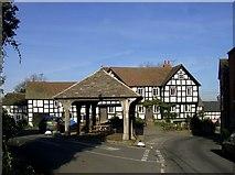 SO3958 : Pembridge - New Inn and Market House by Philip Pankhurst