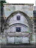 NS2677 : John Galt memorial fountain by Thomas Nugent