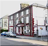SH5638 : The Royal Sportsman Hotel, Porthmadog by Eric Jones