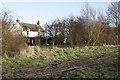 TG4607 : Marsh farm beside Weaver's way by Julie Williams