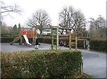 SU7682 : Children's Playground on Mill Meadows by Sandy B