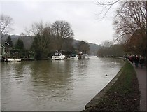 SU7682 : Thames on New Years Day by Sandy B