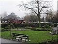 SU7682 : Leichlingen pavilion & play area by Sandy B