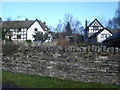SO3678 : Cottages at Hopton Castle by Trevor Rickard