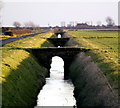 TA2220 : The view down Cherry Cobb Sands Roadside Drain by Andy Beecroft