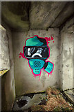 NC5160 : Graffiti on Moine House by Steven Brown