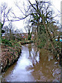 SO8271 : River Stour, Mill Road, looking north by P L Chadwick