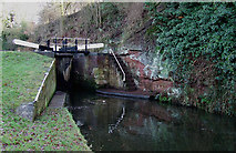 SO8687 : Rocky Lock, Staffordshire and Worcestershire Canal, near Ashwood by Roger  Kidd
