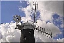 TF7632 : Great Bircham Windmill by dennis smith
